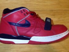 Nike Air Alpha Force Retro Basketball Shoes 2004 Red Navy White