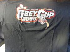 Original 2000 CALGARY STAMPEDERS Grey Cup Black T Shirt XL CFL Puma
