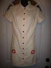 Nurse Hospital Adult Costume Red Cross White Short Costume Dress Leg Avenue 8/10