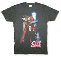 Ozzy Osbourne Speak of the Devil Mens Faded Black T Shirt New Official Adult