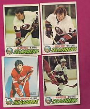 1977-78 OPC NEW YORK ISLANDERS CARD LOT  (INV# 7512)