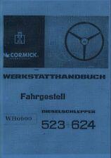 Werkstatthandbuch Fahrgestell IHC 523 624 auch für 553 654 724 824 WHB