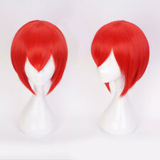 Anime The Ancient Magus' Bride Chise Hatori Red Orange Short Hair Cosplay Wig