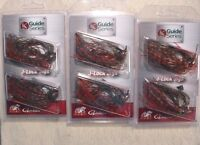 3 PACKS Jewel Bait Co. GS J-Lock 1/2 oz Multi JIGS 4/0 Gamakatsu Watermelon Red