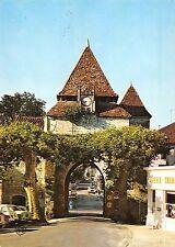 BR54116 le porche de l eglise Barbotan les thermes france