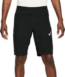 "Nike FC Elite Woven Shorts ZIP POCKET Men's Size M (32-34"") Black"