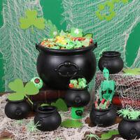 13 in 1 Black Witch Cauldron, Sweets Bucket, Costume, Celebration USA