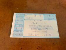 1989 Tennessee Vols v Auburn Tigers Women's Basketball Championship Ticket 4/2