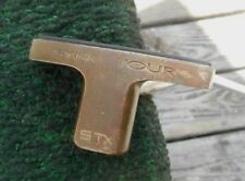 Vintage Rare STX Sync Tour Black Face Brass Putter