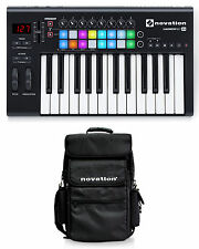 Novation LAUNCHKEY-25-MK2 25-Key USB MIDI Ableton Keyboard Controller+Carry Bag