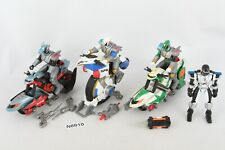 MMPR Power Rangers SPD Bikes Cycles and Figures lot