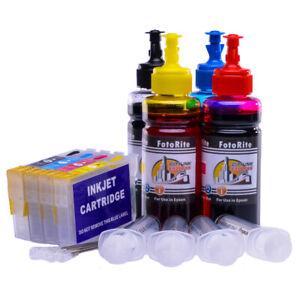 Refillable ink Cartridge Non Oem Epson WF-3725DWF, WF-3720DWF  printers - D