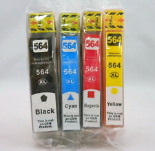 4PK 564 XL BK CMY Ink Cartridge for HP Photosmart 6380 7520 7510 6525 6520 5520