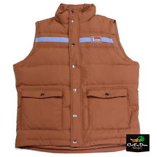 BANDED GEAR VINTAGE DOWN VEST CASUAL WEAR BROWN 2XL