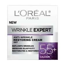 L'Oreal Wrinkle Expert Anti-Wrinkle Restoring Day Cream 55+ Calcium 50ml New