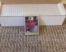 1982 Donuss  Baseball Set