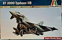 Eurofighter EF 2000 Thyphoon IIB AMI RAF DB AdA - Italeri 1:72 - 1340