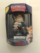 Enesco 2000 Hermey w/ Elephant Rudolph The Red Nosed Reindeer Christmas Ornament