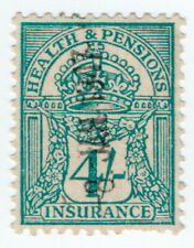 (I.B) George V Revenue : Health & Pensions Insurance 4/-