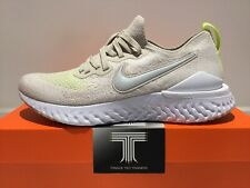 "Nike Epic React Flyknit 2 ~ CJ9695 002 ~ ""Desert Sand"" ~ Uk Size 8 ~ Euro 42.5"