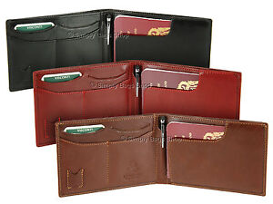 Visconti Leather Travel Wallet With RFID Blocking Protection & Stylus Pen - MZ9