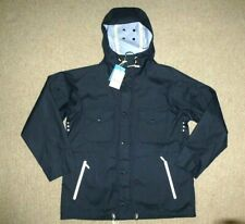 "46-48"" (XXL) BARBOUR Navy WATERPROOF & BREATHABLE HOODED JACKET Hood New Tags"