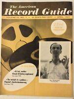 The American Record Guide Igor Markevitch April 1957 022719nonrh
