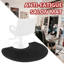 "1/2"" Rectangle Beauty Salon Barber Shop Chair Anti-Fatigue Floor Mat Black"