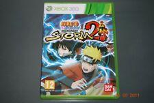 Naruto Shippuden Ultimate Ninja Storm 2 Xbox 360 UK PAL Game **FREE UK POSTAGE**