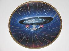 Star Trek U.S.S. Enterprise Ncc-1701-D Limited Edition Plate