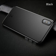 Baseus Luxury Case For iPhone X Ultra Thin Slim Back Cover Protective Shell