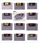 Large 15 Game Super Nintendo, SNES LOT --- AS IS --- Uncleaned / Untested