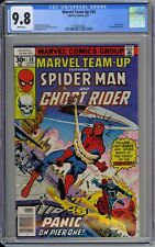 Marvel Team-Up #58 CGC 9.8 NM/MT Wp 1977 Spider-Man & Ghost Rider Vs. Trapster