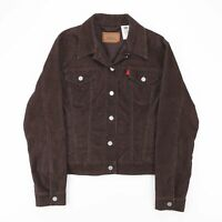 LEVI'S Brown Casual Corduroy Modern Jacket Size Men's Large