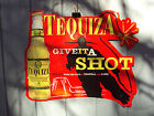 TEQUIZA by Anheuser Busch Cerveza Beer 1998 Metal Advertisement MANCAVE Tin Sign