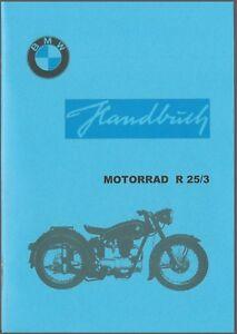 Handbuch BMW R 25/3,  A 5,