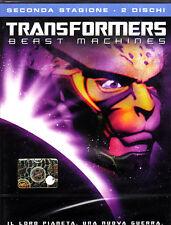 TRANSFORMERS BEAST MACHINES - 2 STAGIONE - 2 DVD (NUOVO SIGILLATO)