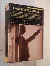 I MAESTRI DEL GIALLO Renato Olivieri Newton & Compton 2005 libro romanzo di