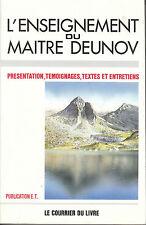 """Livre Philosophie Boudhisme """" L'Enseignement du Maître Deunov ( No 2456 ) Book"""