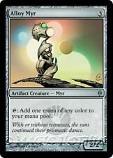 ALLOY MYR New Phyrexia MTG Artifact Creature — Myr Unc