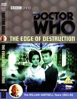 Doctor Who - The edge of destruction (Special Edition) VGC CONDITION Dr Who ++++