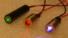 Mini RGB laser set 405 532 650nm 5mw each