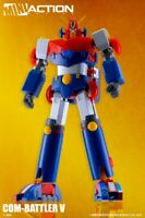 ACTION TOYS SUPER ROBOT MINI ACTION SERIES COMBATTLER V COM-BATTLER V NUOVO