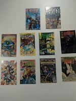 Lot Of 10 Small Independent Press Comics Topps Vertigo Eclipse Playdigm Impact