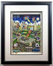 Reg Limited Edition SUPER BOWL XXXVIII: Houston Charles Fazzino Art NE Patriots