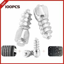 100*3.8mm Screw in Tire Stud Wheel Tyre Snow Spikes Trim Metal For Car ATV