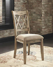 Ashley D540-102 Mestler Dining Side Chair In Antique White Finish, Set Of 2 New