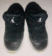 Nike Air Jordan 11 Retro Barons Black Toddler Low Sneakers 505836-010 Size 7C