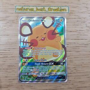 MINT Condition Dedenne 195a/214 Holo/Shiny Pokemon Card, Unbroken Bonds Rare