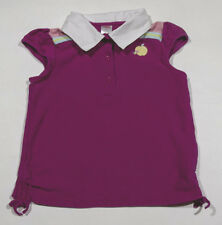 GYMBOREE GIRLS SIZE 9 TOP CANDY APPLE BRIGHT PINK SHIRT SPRING SUMMER